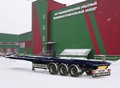 Полуприцеп-контейнеровоз PK-24P (мультилифт)